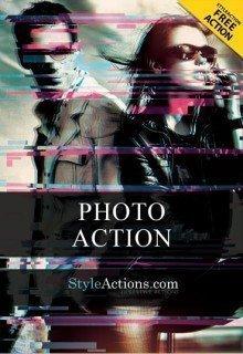 tv-glitch-photoshop-action