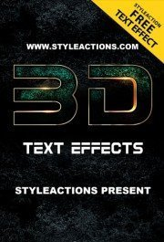 3d-text-effect-free-psd-action