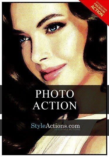 art-look-psd-action