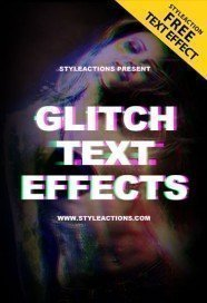 glitch-text-psd-action