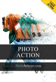 motion-effect-psd-action