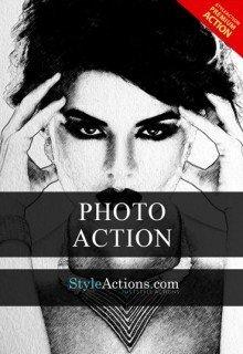 pencil-art-psd-action