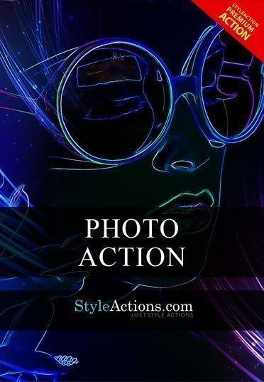 premium-neon-glow-psd-action