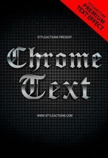 chrome-text-effects