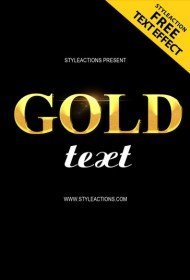 gold-text-psd-action