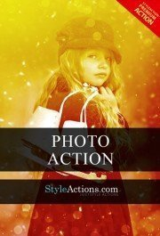 golden-light-photoshop-action