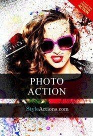 spray-paint-photoshop-action
