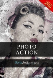 vintage-art-photoshop-action