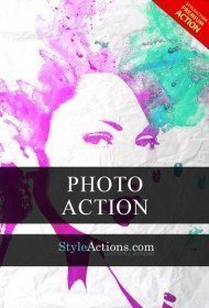 watercolor-psd-action
