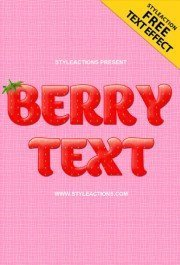 berry-text-psd-action