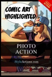 comic-art-highlightened-photoshop-action