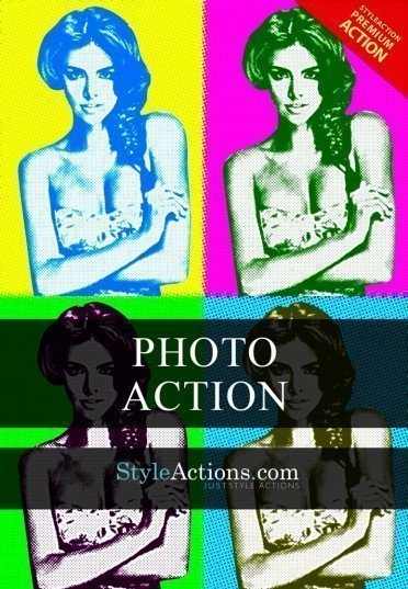 popart-photoshop-action
