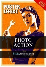 poster-effect-psd-action