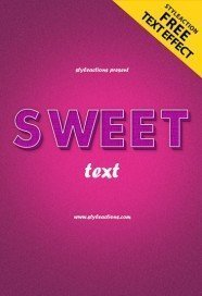 sweet-text-style-psd-action