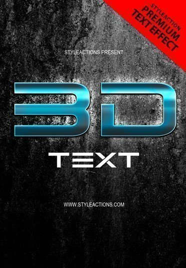3d-text-style-psd-action