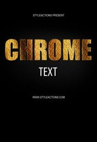 chrome-text-effect-style-psd-action