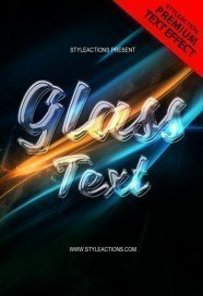 glass-text-psd-action