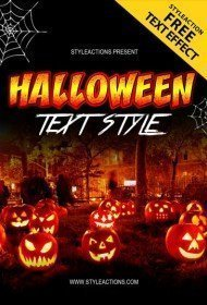 halloween-text-style-psd-action