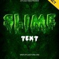 slime-text-photoshop-action