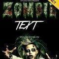 zombie-text-photoshop-action
