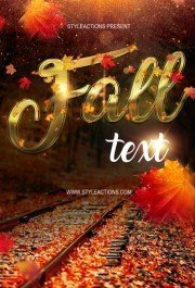 fall-text-photoshop-action