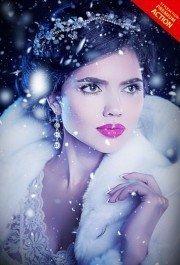 let-it-snow-photoshop-action