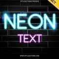neon-text-style-photoshop-action