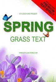 spring-grass-text-photoshop-action