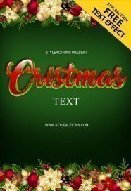 cristmas-text-photoshop-action