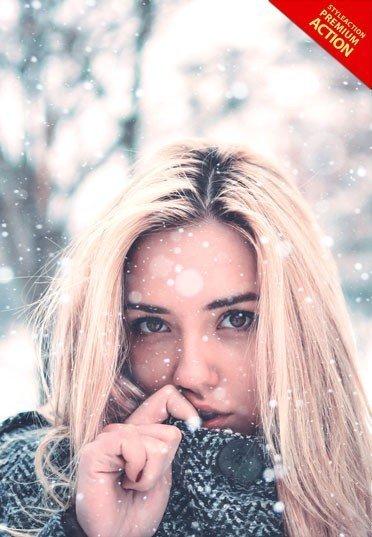 snow-photoshop-action