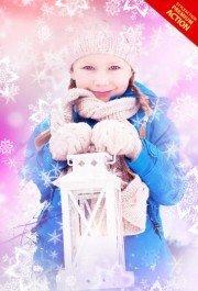 christmas-snowflakes-photoshop-action