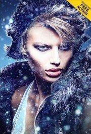 frozen-photoshop-action