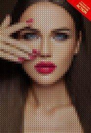 knitting-photoshop-action