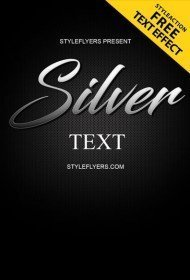 silver-text-style