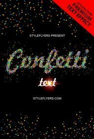 confetti-text-style-photoshop-action