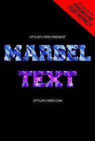 marbel-text-effect-photoshop-action