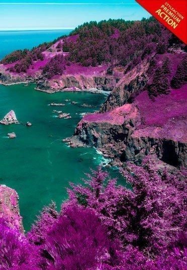 pink-nature-photoshop-acrtion