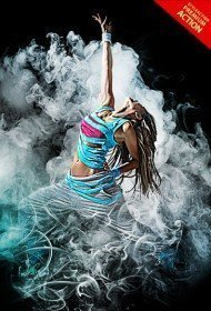smoke-photoshop-action