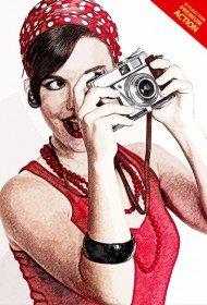 pencil-sketch-photoshop-action