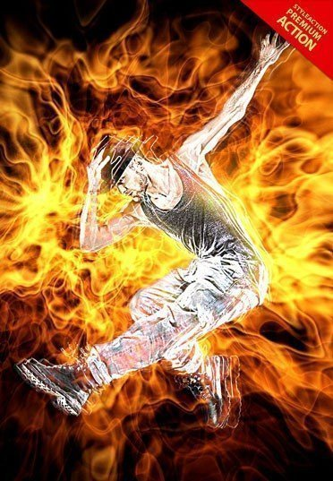 fire-photoshop-action