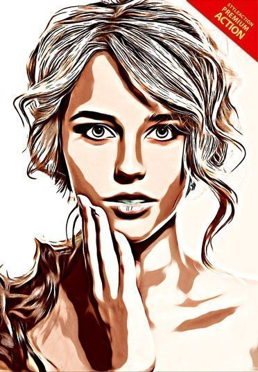 vector-painting-photoshop-action