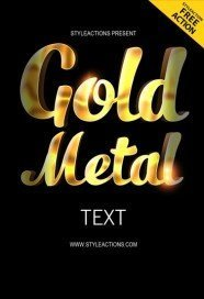 gold-metal-text-photoshop-action