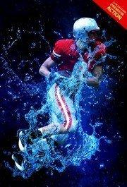 water-splash-photoshop-action