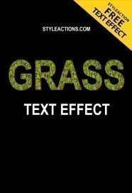 grass-text-effect-photoshop-action