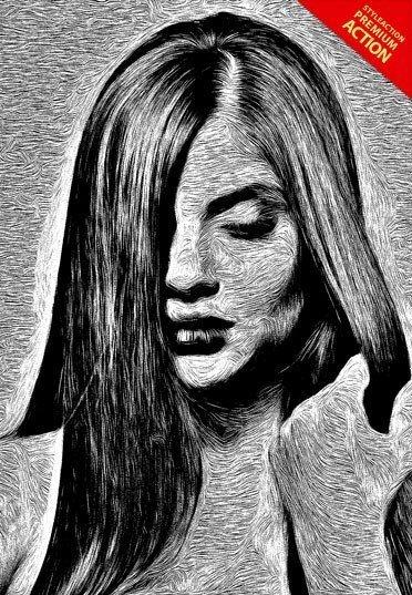 sketch-art-photoshop-action
