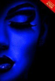 uv-black-light-photoshop-action