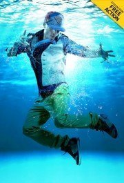 underwater-effect-photoshop-action