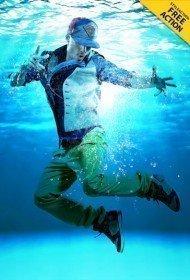 underwater-effect-photoshop-action