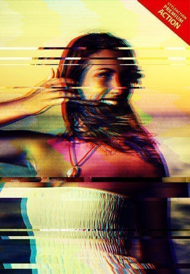 glitch-effect-photoshop-action