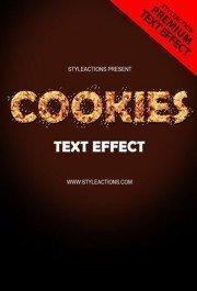cookies-text-effect-photoshop-action